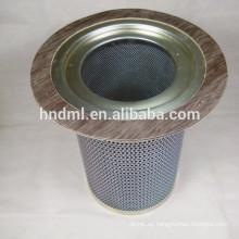 Elemento de filtro de separador de gas y aceite 92765783 Elemento de filtro de separación de gas, cartucho de filtro de acero inoxidable