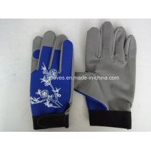 Mechanic Glove-Micro Fiber Glove-Leather Glove-Work Glove-Protected Glove-Labor Glove