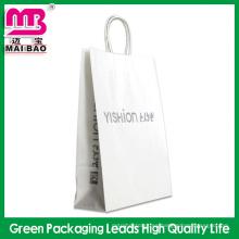 Bolso de compras de papel de encargo resistente reciclado del arte / bolso de jardín Guangdong al por mayor