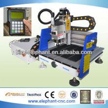 Vente chaude mini bois cnc routeur / mini cnc machine pour bois / mini cnc machine de gravure