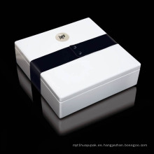 Caja de embalaje de joyas de papel personalizado de alta calidad