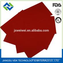 tissu de fibre de verre enduit par silicium super-large d'isolation de résistance thermique