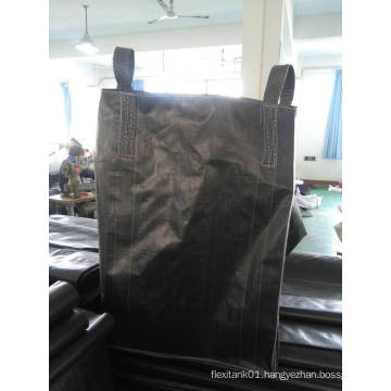 Chemical Carbon Black Bulk Bags for Silica Sand