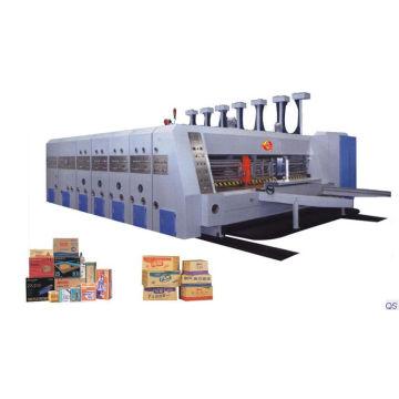 Caixa de papelão ondulado automática que faz a máquina