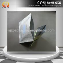 OPP mat / feuille d'aluminium / PE Sac d'emballage pour masque facial trois épaulements latéraux