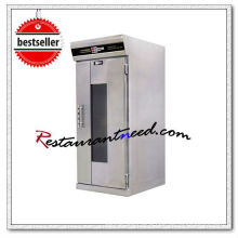 K071 Stainless Steel Electric Atomizing Baking Proofer With 11 Tray Pan Trolley