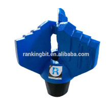 Geological drilling tools&drag well chevron type stepped drill bit