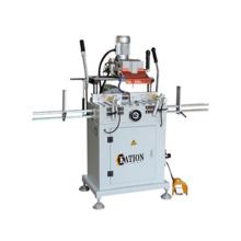 Máquina de processamento de fenda e orifício de bloqueio de plástico
