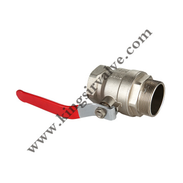Red handle ball valves