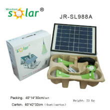 Easy CE home use led solar lighting kit;solar light home system