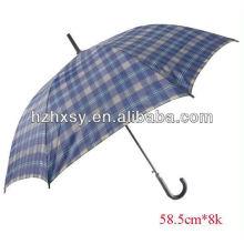 Billige Polyester Spazierstock Schirm