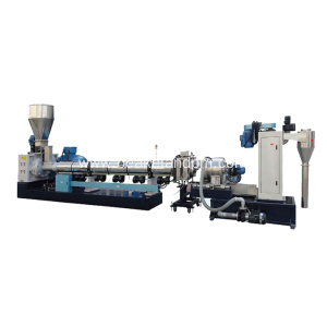 Plastic material recycling Granulator granulating machine
