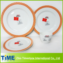 16PC кости Китай Набор посуды (002)