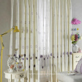 Hotel Chemical Embroidery Linen Curtain Fabric