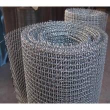 Malha de arame em aço inoxidável para malha de tela de peneira de mineração