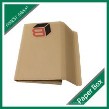 Изготовленный на заказ Коробка коричневый Крафт-рассылки для книги