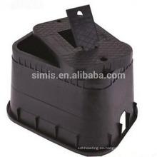 Medidor de agua de hierro dúctil caja de superficie de hierro fundido