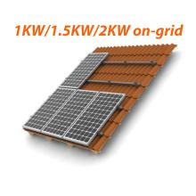 1kw 1.5kw 2kw Sistema de energia solar