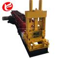 Linha de produção de Purlin automática máquina de formação de rolo de canal c
