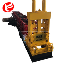Purlin línea de producción automática de canal c máquina de perfilado