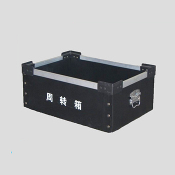 Rivet connecting hollow board box