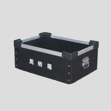 Frame type turnover box
