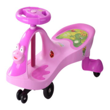 Лягушка Shape Child Swing Car Открытый Twist Car