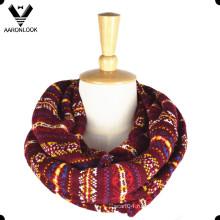 2016 Новый модный многоцветный жаккардовый узорный дизайнерский шарф