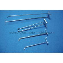 Crochet de suspension de fil de montage de magasin en métal antirouille galvanisé