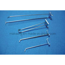 Metal Store Fixture Wire Hanger Hook Antirust Galvanized