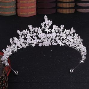 Venta al por mayor Crystal Tiaras With Handmade Beads