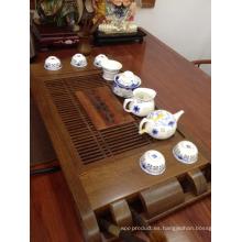 Tabla de té de Wenge con color Natural Anti Crack y prueba de humedad