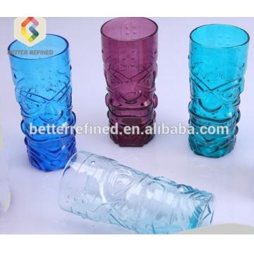 Custom tiki glass mug