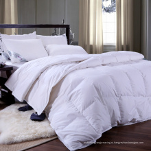 Простое окрашенное белое 100% хлопковое одеяло / одеяло / пуховое одеяло (WSQ-2016030)