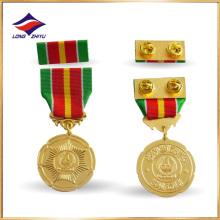 Medalla conmemorativa del metal de la medalla de la aleación del cinc de la venta caliente