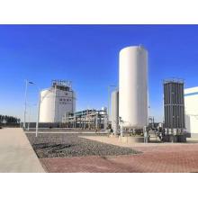 tanques de armazenamento de líquidos criogênicos Lin em grande escala