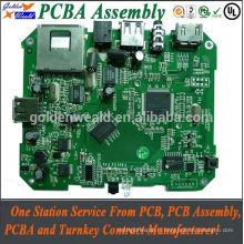 Carte d'alimentation 12v PCB avec 2mm pcb board épaisseur compteur d'énergie pcb assemblée