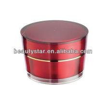 Cone cosméticos acrílico Jar para creme 2g 5g 10g 15g 30g 50g 100g