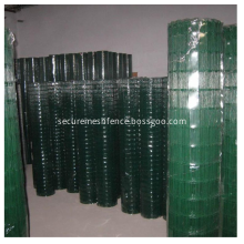 Pvc Coated Welded Euro Wire Mesh Fence 2.2mm