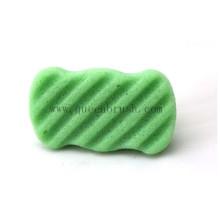 Зеленый губка для лица Очищающая губка натуральная губка Konjac