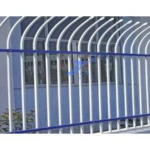 Clôture de treillis métallique de sécurité enduit de poudre