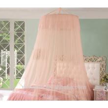 Caminhão circular nanging tendão rede de mosquito de estilo novo para cama de menina