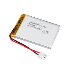 603450 3.7v 1000mah flat lithium polymer battery