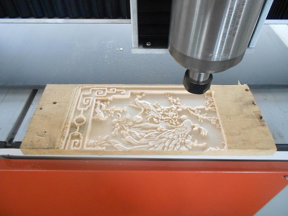 cnc carving machine advertising