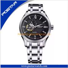 ODM & OEM automatische mechanische Uhr mit Edelstahlband