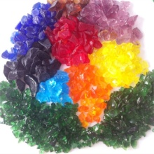 Cheap Slag Glass Rocks for Landscaping