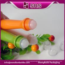 Botella plástica de la bola del rodillo del plástico de la forma especial al por mayor 15ml