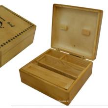 LARGE WOODEN ROLLING BOX ROLL BOX SMOKING