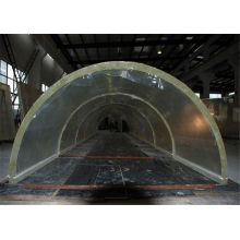 Custom Large Perspex Plexiglass Acrylic Tunnel For Oceanarium / Aquariums