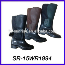 long high heel boot fashion pvc boot lady rain boot